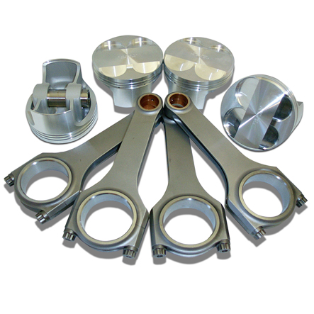 Pistons, Rods and Cranks